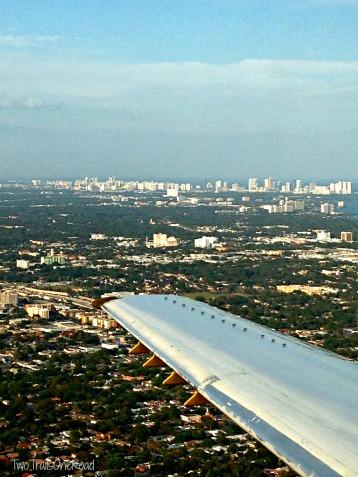 "Flying through the ""AIR"" over Miami, Florida"