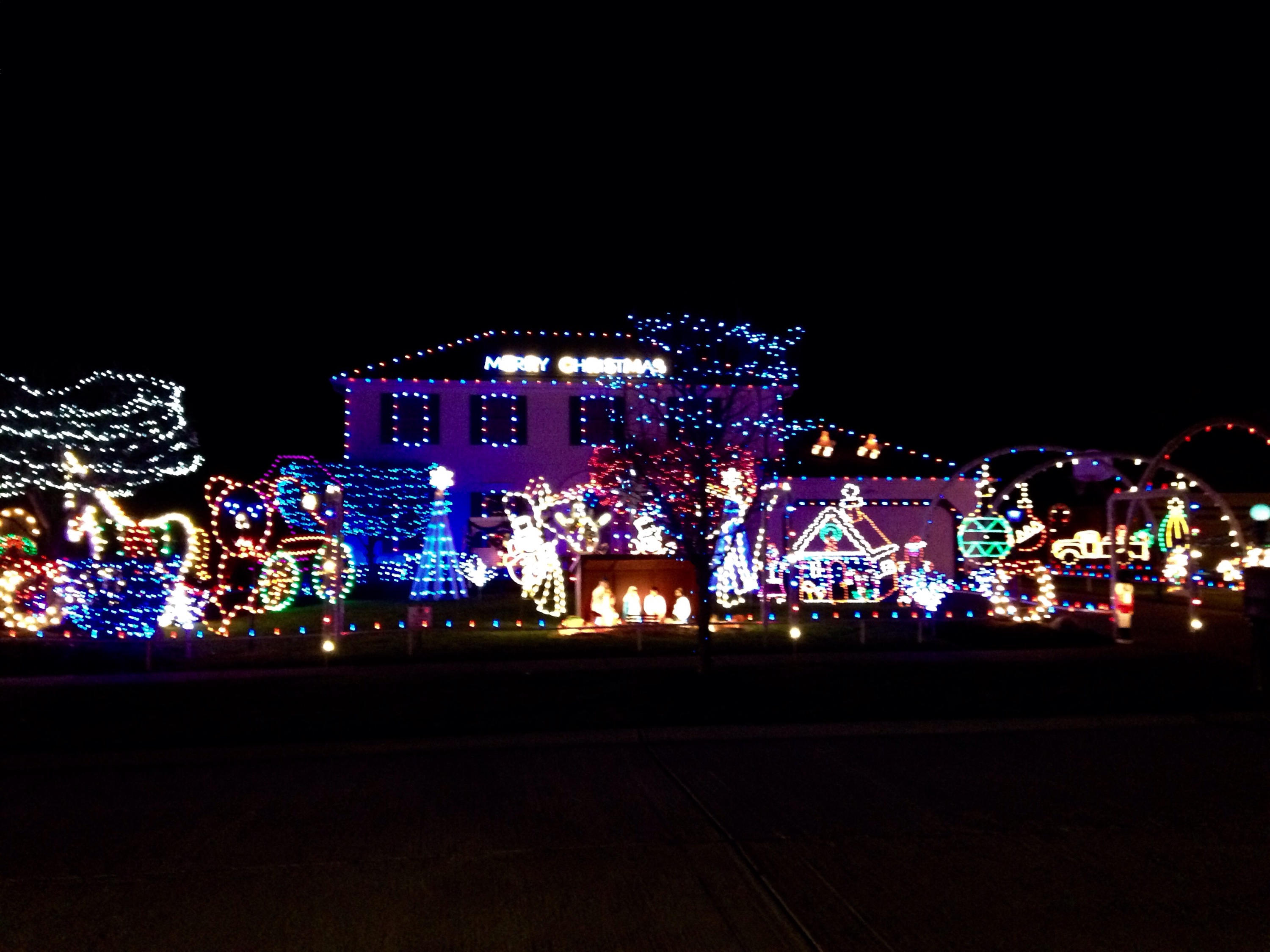 Christmas Lights and T.V Show | Two Trails One Road
